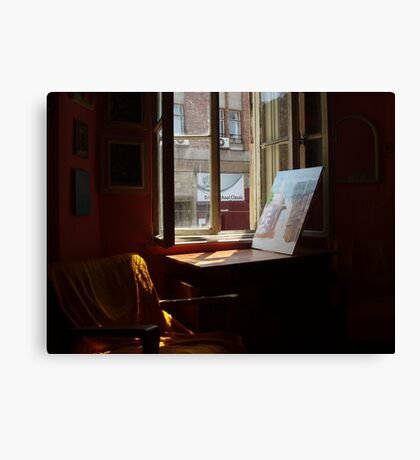 inside and outside  Canvas Print