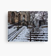 Steps to St Peter Mancroft Canvas Print