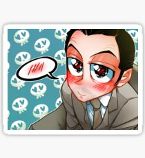 Moriarty Loves you Sticker