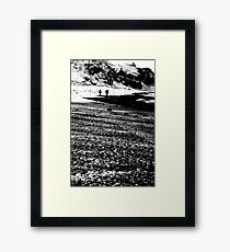 Walkers Framed Print