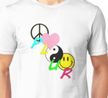 PLUR - Symbols Unisex T-Shirt