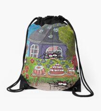 Garden Idyll Drawstring Bag