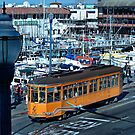 """""""San Francisco's historic cable car lines"""" by Gail Jones"""