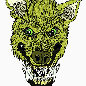 Werewolf- Lime by vanweasel