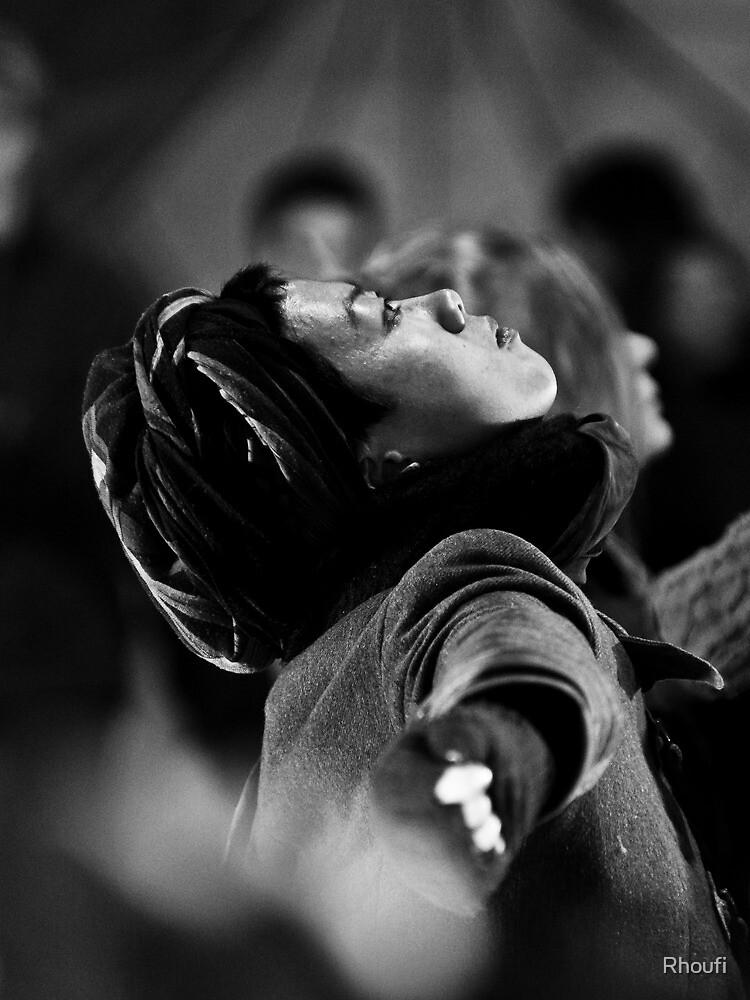 Light in Winter - Street Theatre Portrait #4 by Rhoufi