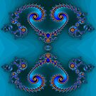 Blue Double Double by Hugh Fathers