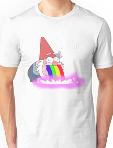 Puking Rainbows (no text) Unisex T-Shirt