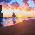 12 Apostles with Marshmallow Skies  (EH) by Raymond Warren