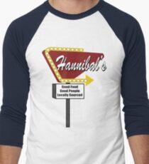 Hannibals Diner Men's Baseball ¾ T-Shirt
