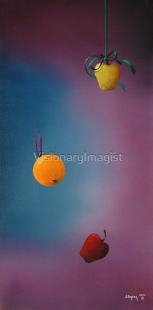 THE DIFFERENCE BETWEEN APPLES & ORANGES by VisionaryImagist