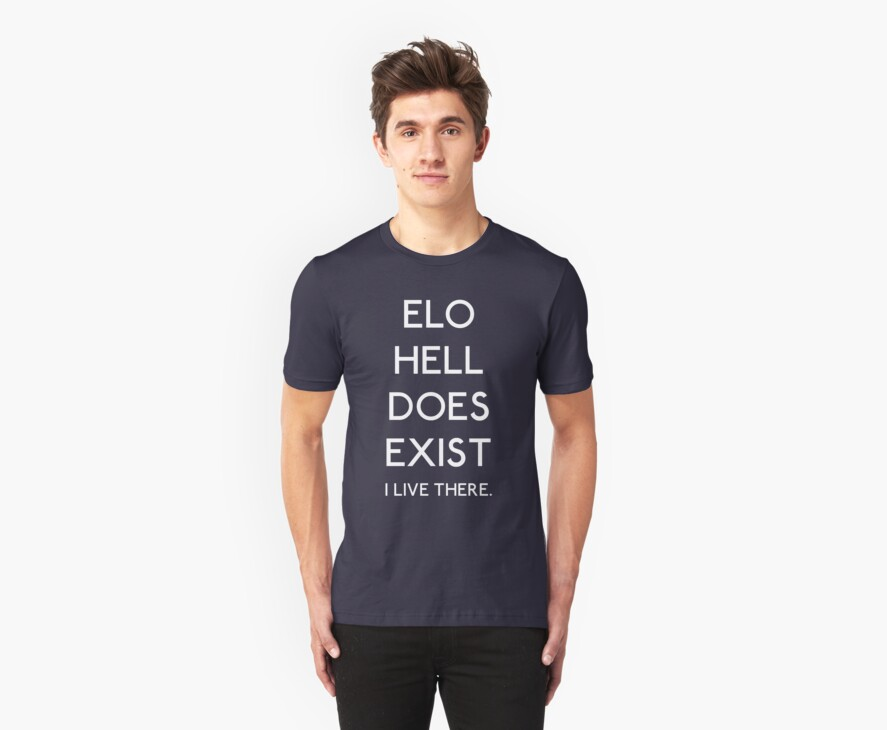 ELO Hell Does Exist - White by LucieDesigns