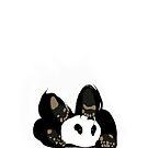 Playful panda by CatchyLittleArt