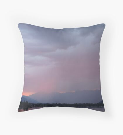 The Storm: Zell Am See Throw Pillow
