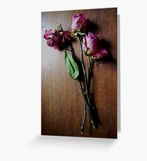 Faded Beauty Greeting Card