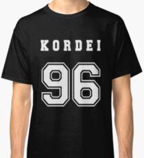 KORDEI - 96 // White Text Classic T-Shirt