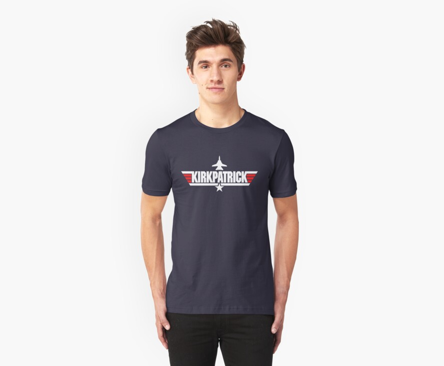 Custom Top Gun Style - Kirkpatrick by CallsignShirts