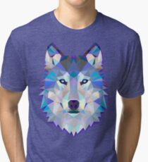 Wolf Animals Gift Tri-blend T-Shirt