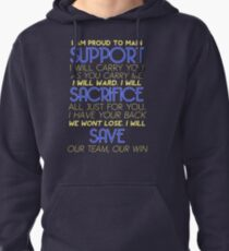 I Am Support Pullover Hoodie
