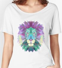 Lion Animals Gift Women's Relaxed Fit T-Shirt