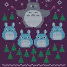 Totoro hässlicher Weihnachts-Pullover von BearBon