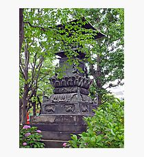 Asakusa Statuary Photographic Print