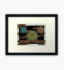 ©DA Spiral Fractals Framed Print