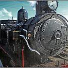 Steam locomotive in Canberra by Wolf Sverak