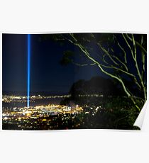 Spectra Tree - Hobart, Tasmania Poster