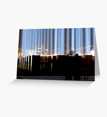 Spectra and the City - Hobart, Tasmania Greeting Card