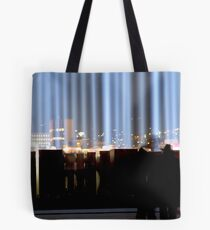 Spectra and the City - Hobart, Tasmania Tote Bag
