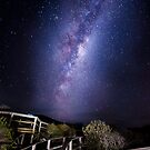 Milky way from Remarkable caves  by Robert-Todd