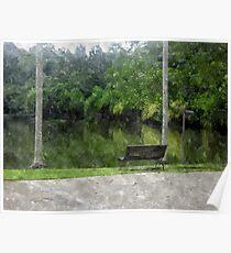Borneo Rainforest Walk Poster