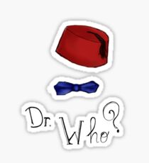 Doctor Who? Eleventh Doctor! Sticker