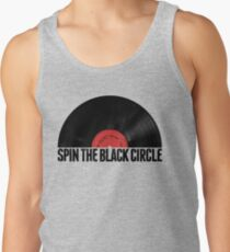 Spin The Black Circle Tank Top