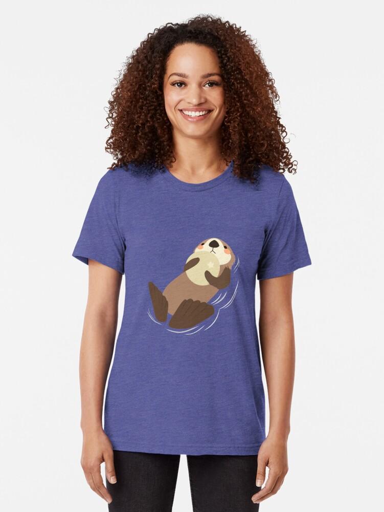 Alternative Ansicht von OTTER Vintage T-Shirt