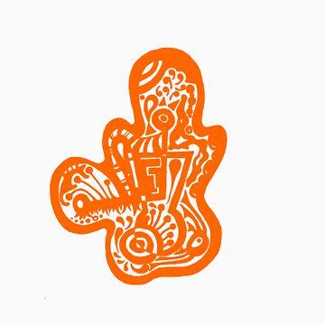 Lady bug - Orange by onethirdpotato