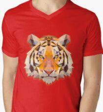 Tiger Animals Gift Men's V-Neck T-Shirt