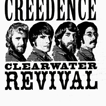 Creedence clearwater revival by Mezcu