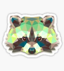Raccoon Animals Gift Sticker