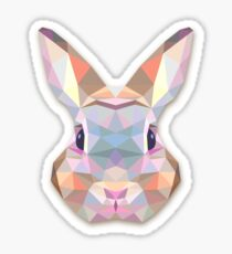 Rabbit Hare Animals Gift Sticker