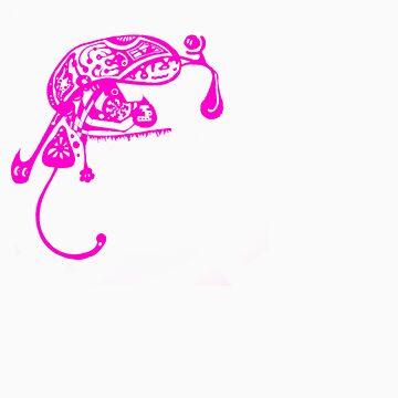 Bugs life - Pink by onethirdpotato