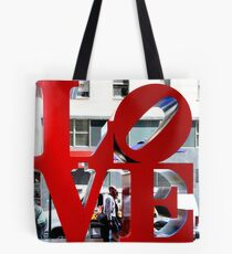 LOVE Sculpture by Robert Indiana Tote Bag