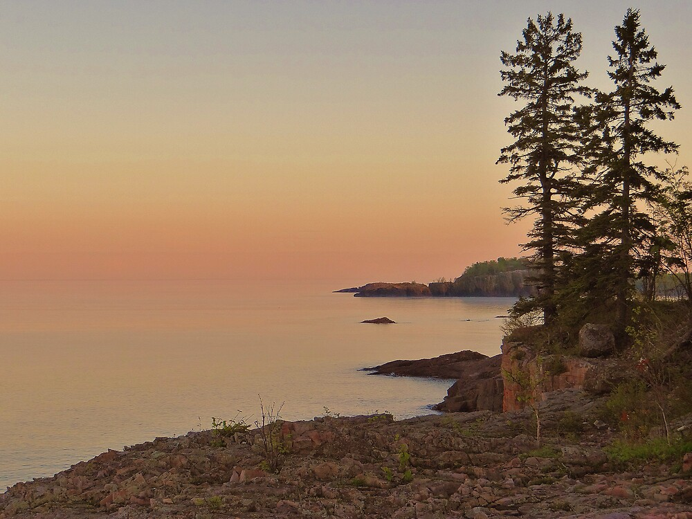 Sunset on Silver Bay by MGriffiths