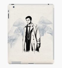 Castiel portrait sketch / SUPERNATURAL iPad Case/Skin
