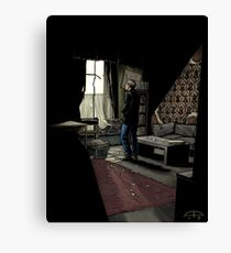 To Build A Home - Coloured Version Canvas Print