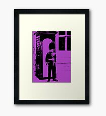 God Save the Queen. Framed Print