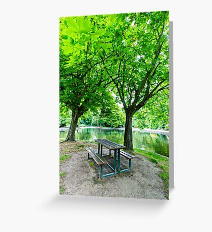 Herbert Park, Dublin, Ireland Greeting Card