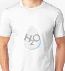 H2O-Tropfen Slim Fit T-Shirt