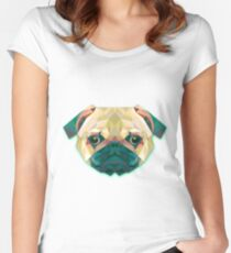 Dog Animals Gift Women's Fitted Scoop T-Shirt