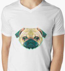Dog Animals Gift Men's V-Neck T-Shirt